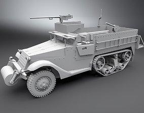 M3 Half Track Scale model