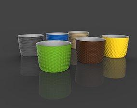 3d model of Pot holder for plants
