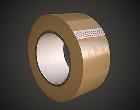 Packing Tape 3D asset