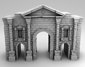 3D printable model Hadrian arch
