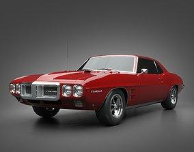 3D model 1969 Pontiac Firebird 400