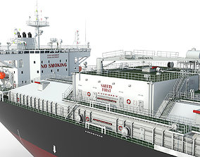 3D model Products Tanker Black