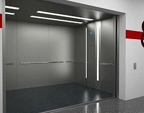 3D model Elevator Otis mod2