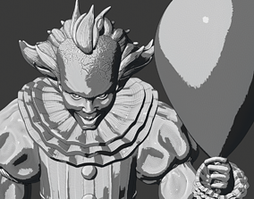 3D printable model Pennywise