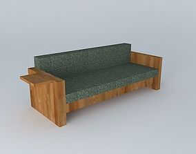 sofa 3D sofa;table