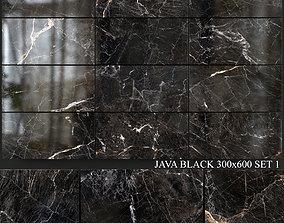 3D model Yurtbay Seramik Java Black 300x600 Set 1