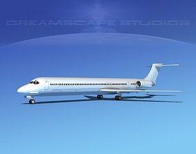 McDonnell Douglas MD-88 LP SS 3D model