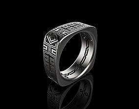 Men Celtic Ring jewellery 3D printable model