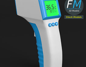 Forehead thermometer 3D model