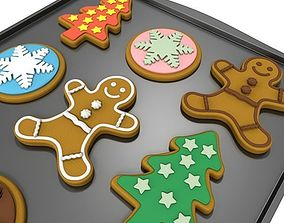 Holiday Cookies 3D
