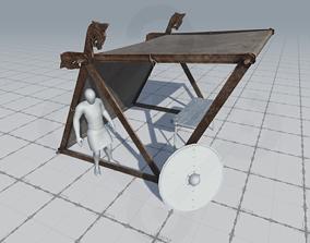 Viking Market Tent 3D model