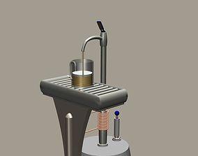 Draft Beer Keg Tap Fast Chiller 3D model