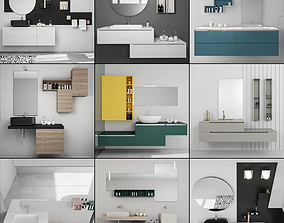 Bathroom furniture collection 4 Bathroom 9 3D