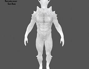 3D model ice monster