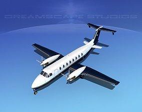 Beechcraft B1900C V05 3D