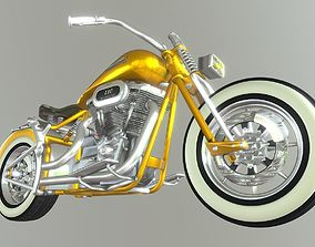 3D model Harley Davidson Chopper CVO