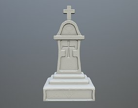 3D print model tombstone 1