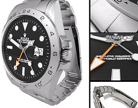 3D Watch Rolex Oyster Perpetual Date Explorer II