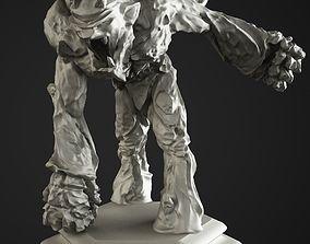 Stone golem 3D print model