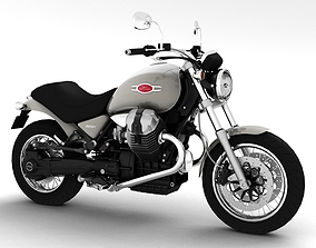 Moto Guzzi Bellagio 2014 3D model