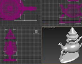 Teapot kettle 3D printable model