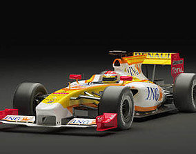 3D Renault F1 2009 Vray