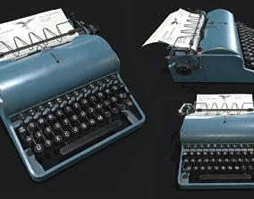 3D asset Olympia Typewritter