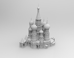 The Cathedral of Vasily the Blessed 3D printable model