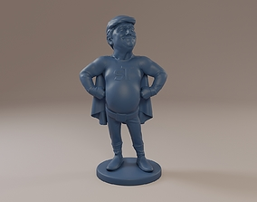 3D print model Donald Trump SuperTrump