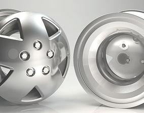 race-car 3D Rim Model Car Wheel