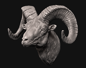 3D printable model Big Horn Sheep