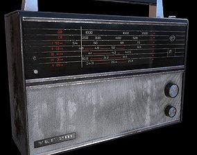 Radio Vef 201 3D asset