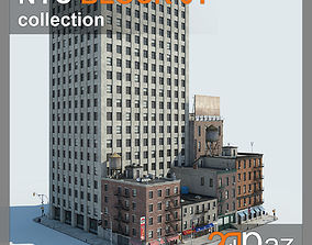 NYC Block 01 3D asset