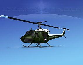 3D Bell UH-1B Iroquois V14 US Marines