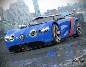 3D Renault Alpine A110-50 2 0