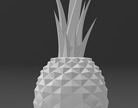 3D printable model pineapple nature