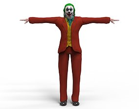 Joker 3D model animated
