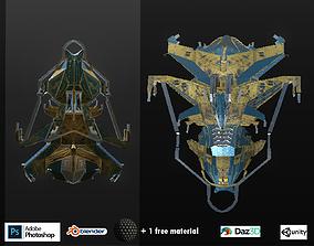realtime Spaceship ev2 PRO editable model