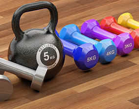 3D weight Gym Equipment