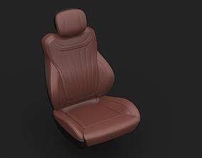 interior car seat 3D model
