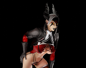 Rogue Demon Girl 3D model