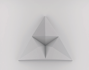 3D Wall Texture triangular