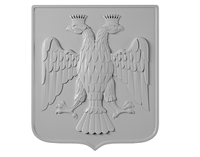 3D printable model logos Emblem of Russia
