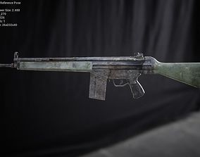 G3A4 Rifle 3D asset