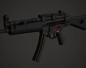 3D asset HK Mp5 Low Poly