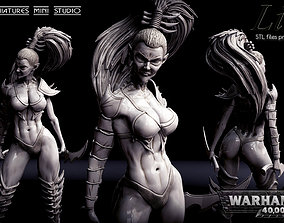 Lilith w40k 3D print model