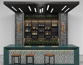 Restaurant Bar 10 3D model