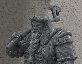 Dwarf hunter 3D print model