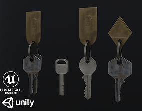 House Door Keys 3D model