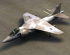 AV-8B HarrierII US Marines 3D asset